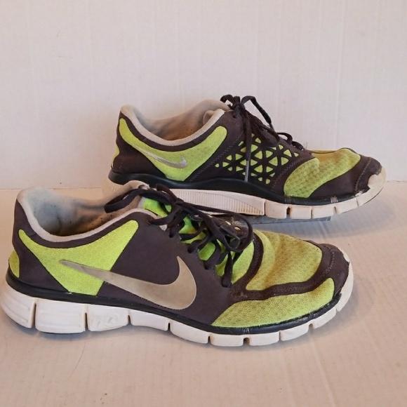 Nike Free 7.0 Men's Shoes Sz.9.5  GrayBlackYellow